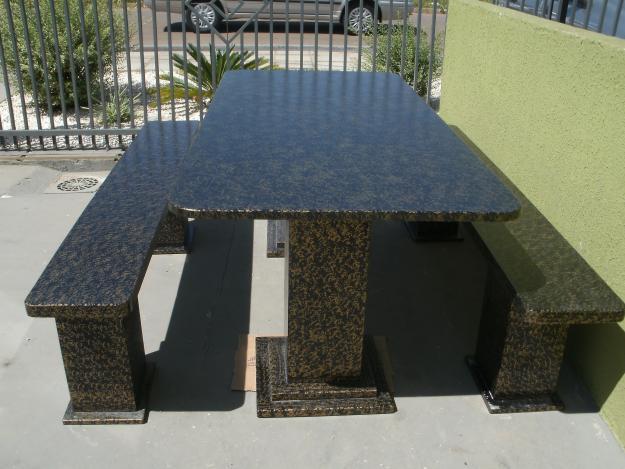 banco de jardim ardosia : banco de jardim ardosia:de mesas e bancos em pedra ardosia para churrasqueira jardimjpg