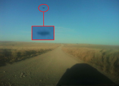 Clear Black Disc UFO Above Argentina 2015, UFO Sighting News