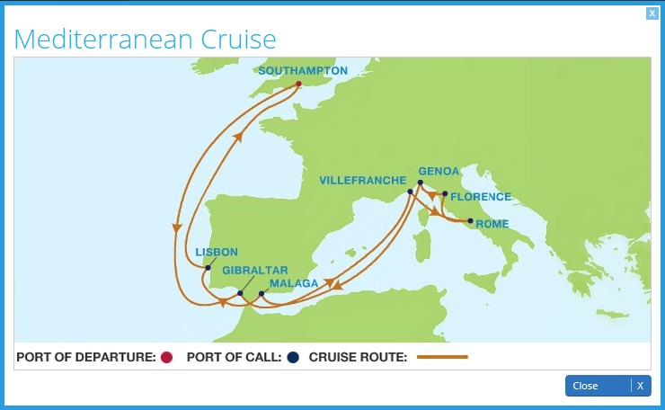 Celebrity Eclipse Current Position Dual Tracking