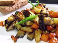 Legumes Caramelizados com Azeite (vegana)