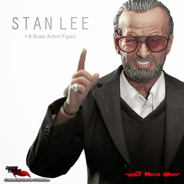 Primer plano  Figura de acción Stan Lee
