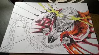 spawn illustration drawing