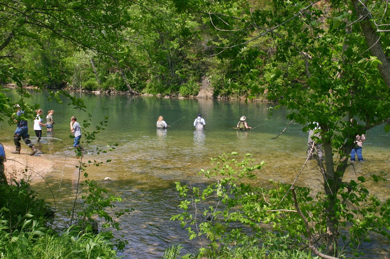 Retirement dreams for Bennett springs trout fishing