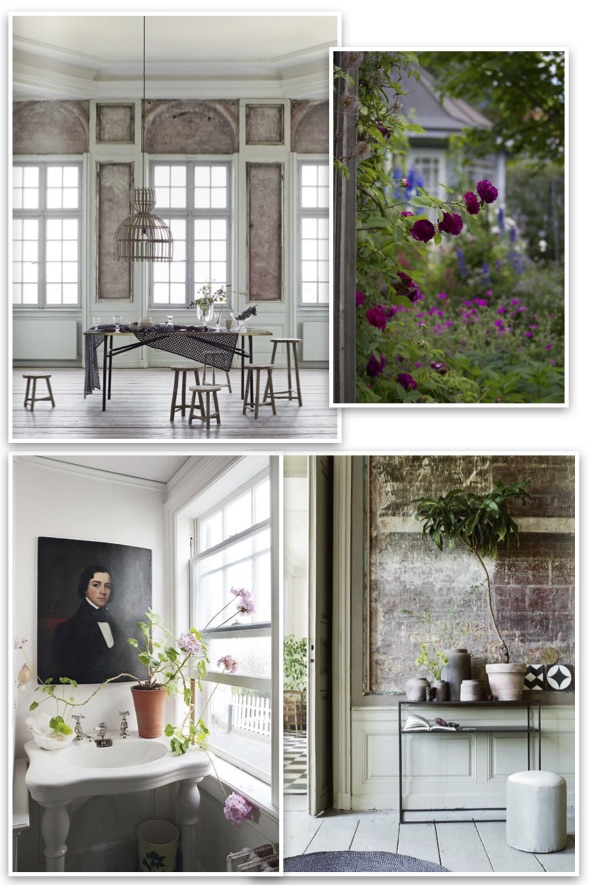 Red address: Inspiration mood - Country chic