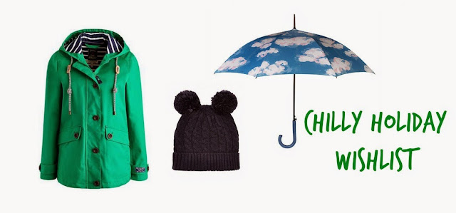 green joules jacket cath kidson cloudy umbrella