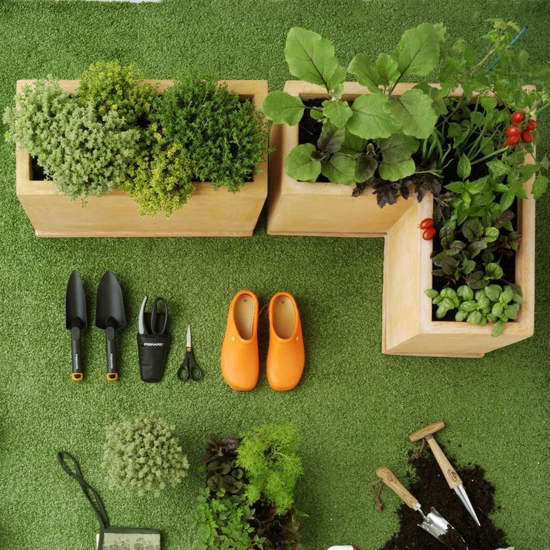 Coltivazione artificiale un blog per neo growers consigli per creare un piccolo orto giardino - Creare un giardino sul balcone ...