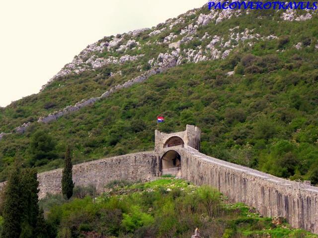 La muralla de Ston Croacia, la segunda más larga del mundo