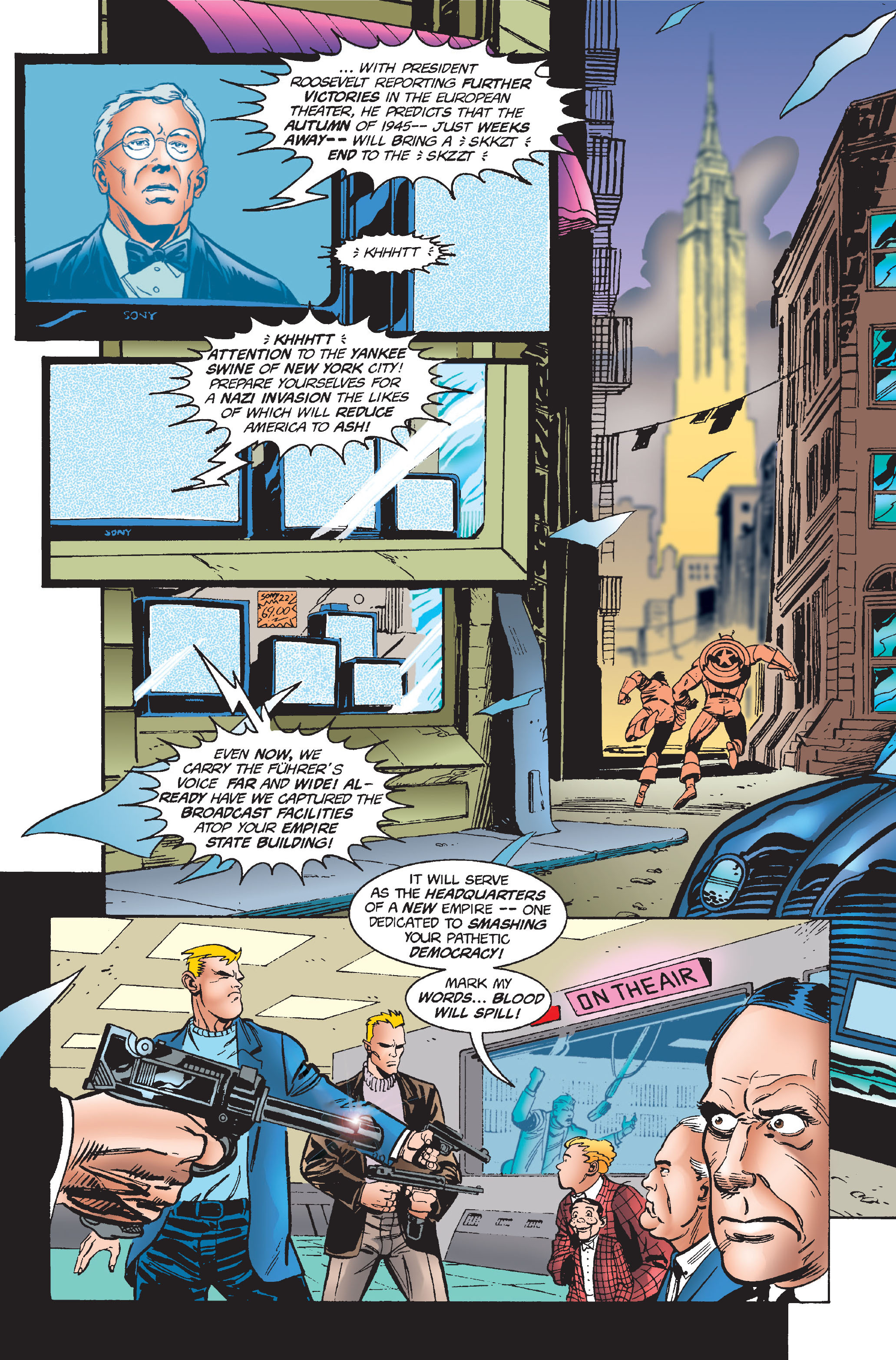 Captain America (1968) Issue #448 #402 - English 13