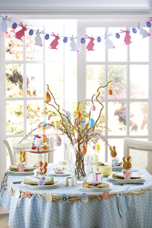Home quotes easter decorations 12 gorgeous table setting ideas - Table easter decorations ...