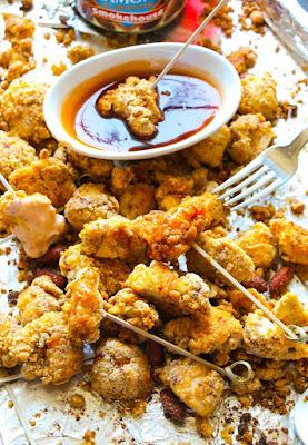 How to make KFC chicken popcorn