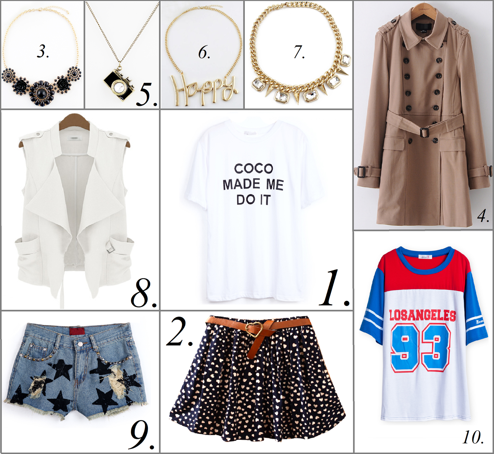 sheinside wishlist fashion blogger
