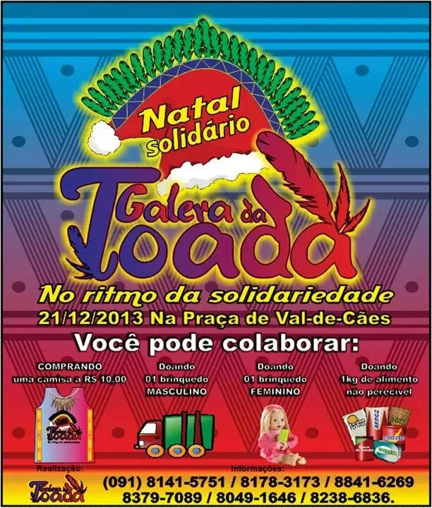 1º Natal solidário da Galera da Toada.