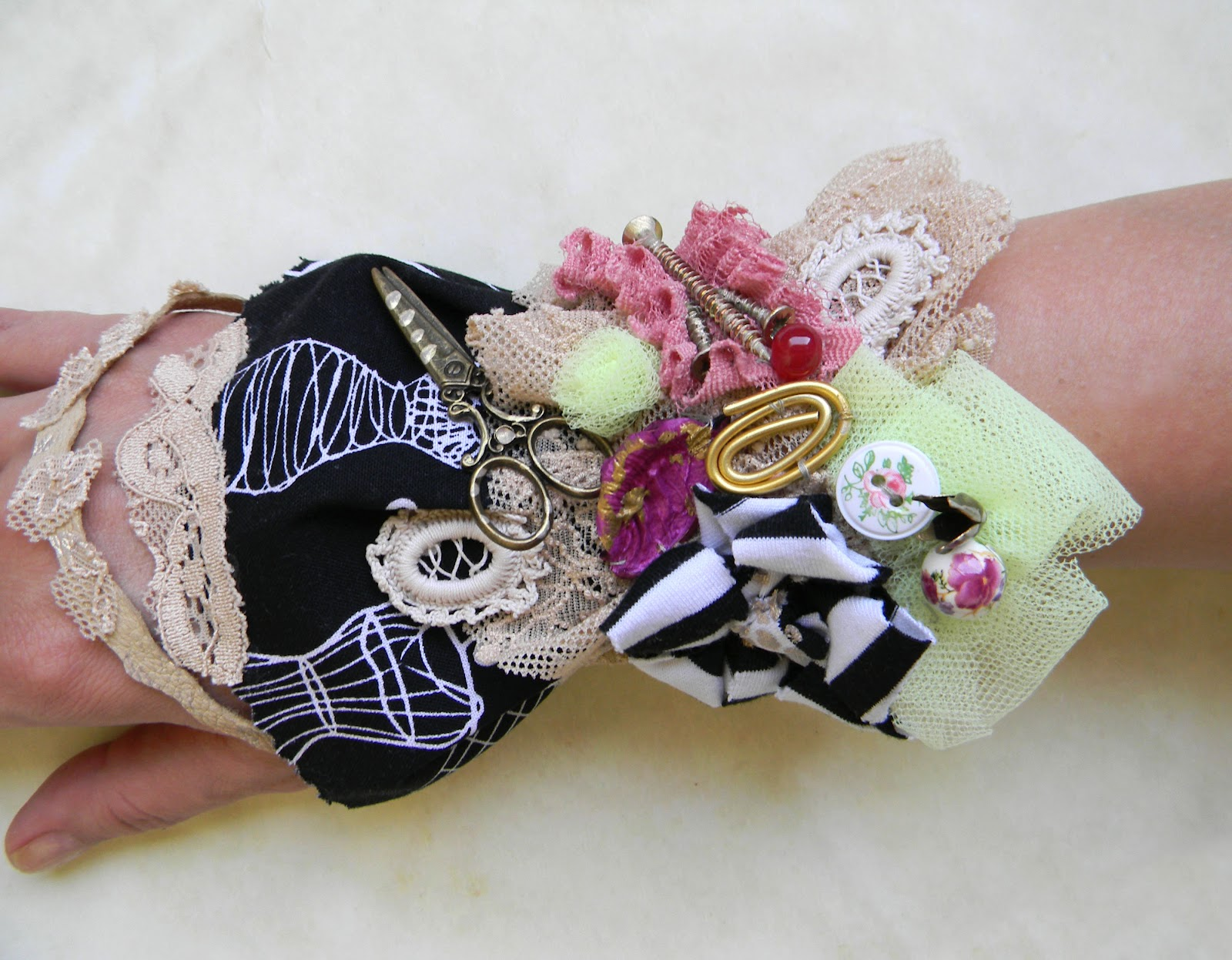 Original Cuff/Steampunk and Romantic Inspired