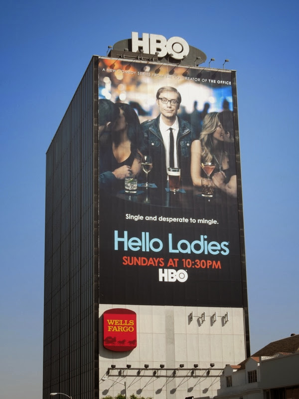 Giant Hello Ladies season 1 HBO billboard