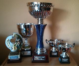 Trofeos patrocinados por Infraex2000 S.L.