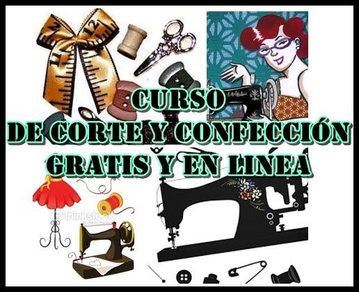 CURSO DE CORTE Y CONFECCIÓN. GRATIS Y EN LINEA