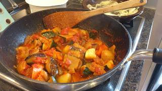 三鷹市のお客様宅に出張シェフ&出張料理!夏野菜