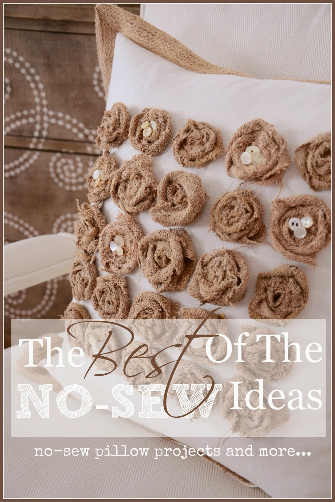 the best of the no-sew ideas