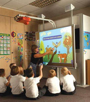 the use of audio-visual equipment to improve the quality of education