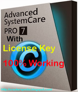 download advanced systemCare 7 pro final with crack and serial Keys