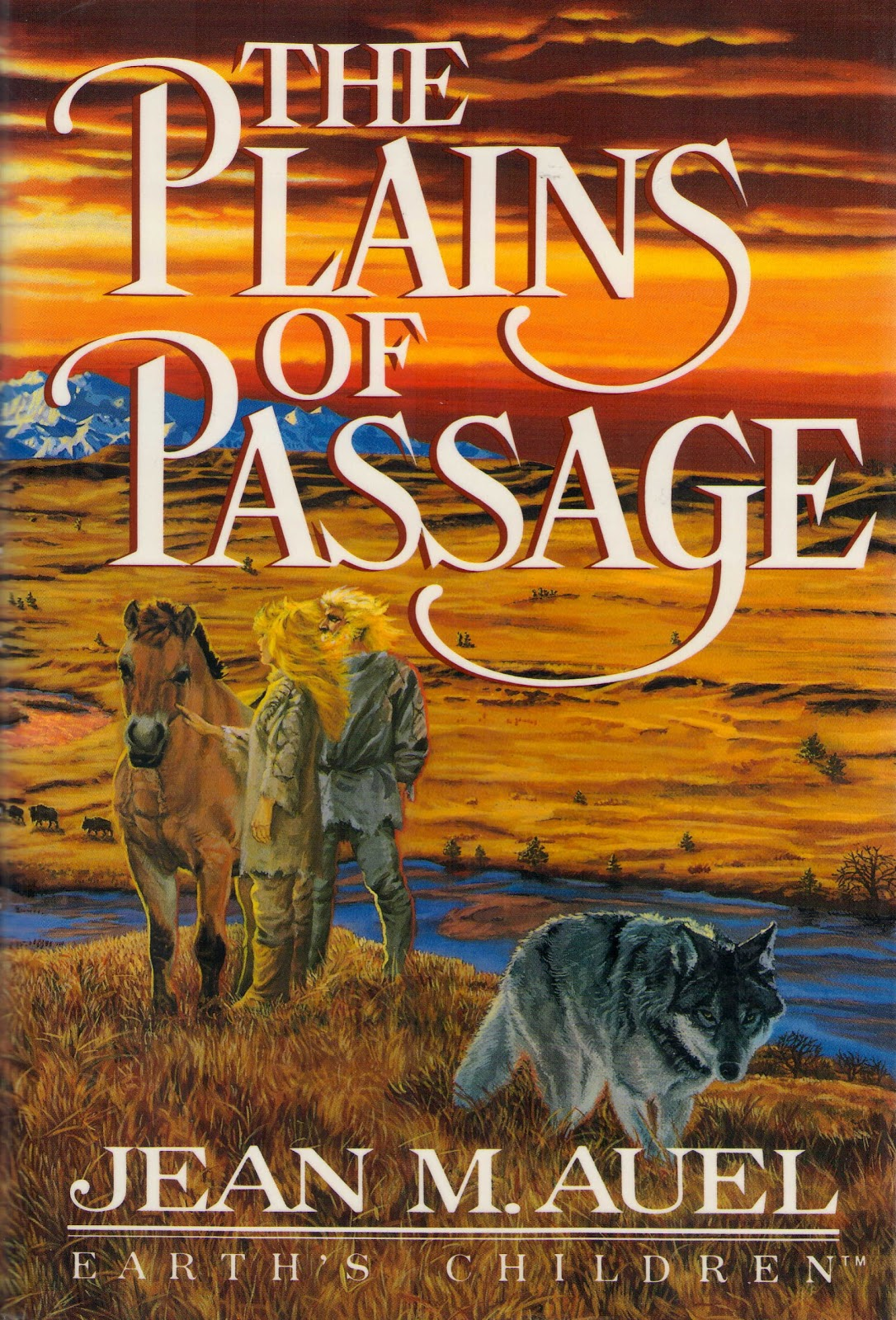 JEAN M. AUEL - THE PLAINS OF PASSAGE - Earth's Children (4)