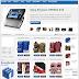 Template Shop bán hàng Johny Magstore Blogpot