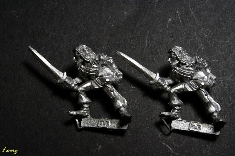 Elfo Silvano con espada, Sword 9 de referencia 074213/17