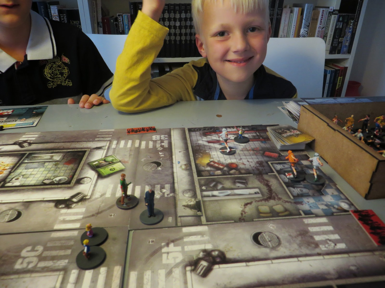 Zombicide, game, play, report, AAr, Achille, Dave, zombies,