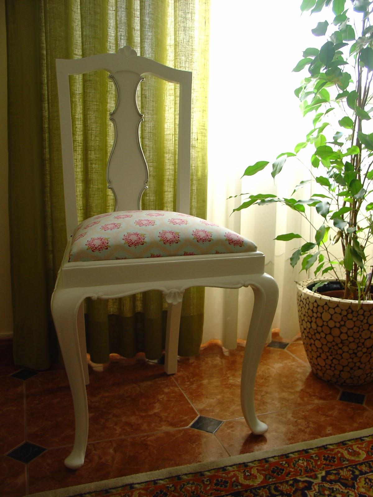 Tilda Fans 2: Cadeira Forrada com Tecido Tilda #476C15 1200x1600