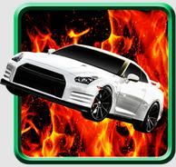 drag car racing