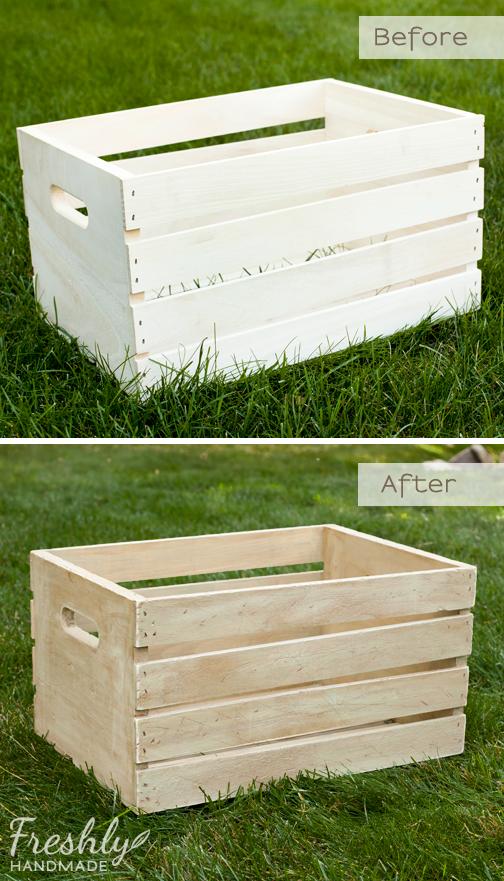 Freshly handmade diy rustic wooden box tutorial for Wooden box tutorial