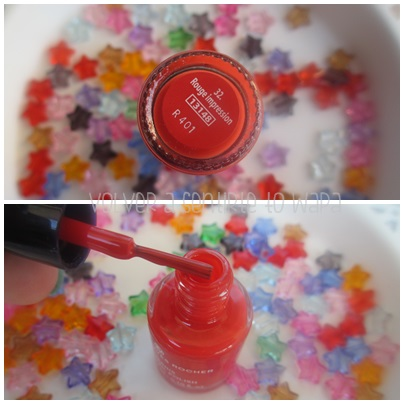 IT COLORS! los mini pintauñas de YVES ROCHER - Rouge impression