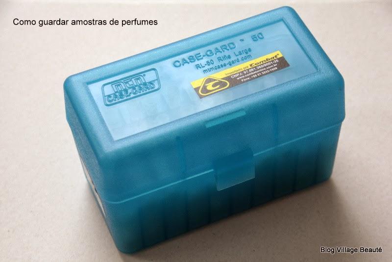 CASE PARA GUARDAR AMOSTRAS DE PERFUMES
