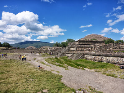 Avenue of the Dead Mexico City Teotihuacan