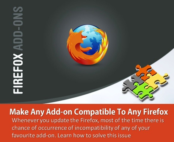 Make Any Add-on Compatible To Any Firefox