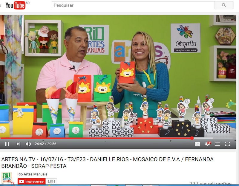 Tutorial no Artes na TV