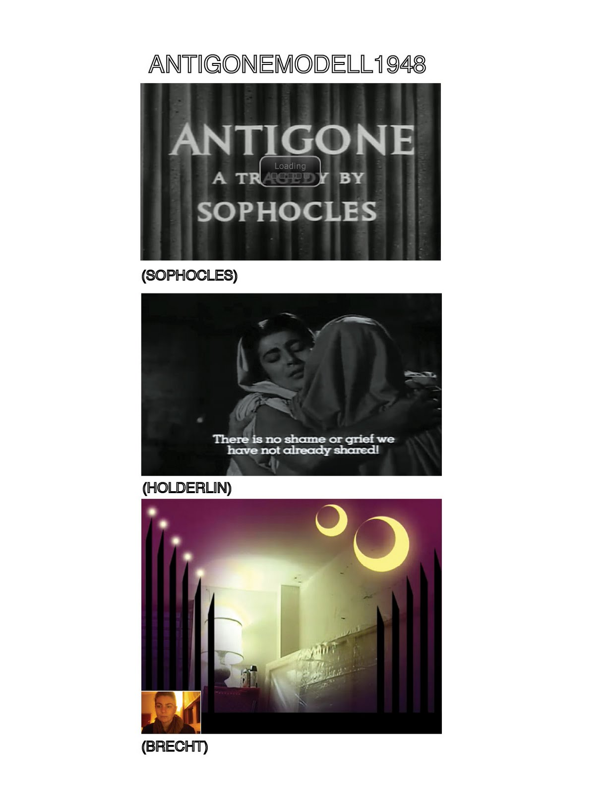 Antigone Essays