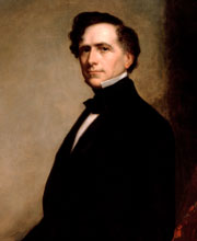 painting of President Franklin Pierce