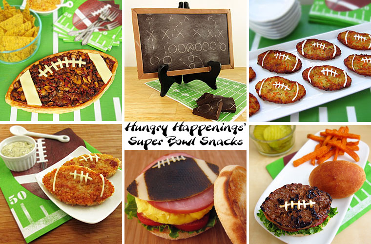 Super bowl party foods football shaped burger recipe hungry madeira mushroom football tart forumfinder Gallery