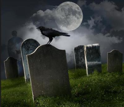 أغرب ستة حالات وفاة على مستوى العالم - مقبرة - جبانة - تربة - مقابر  - مدافن - غراب