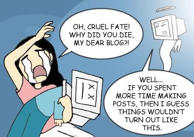 dead blog