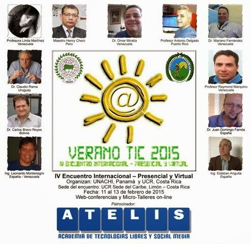 Afiche VeranoTIC 2015