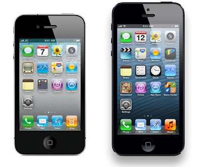 iphone 5 vs iphone 4 vs iphone 4s, lebih bagus iphone 5 apa iphone