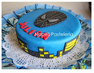 Torta spider man black