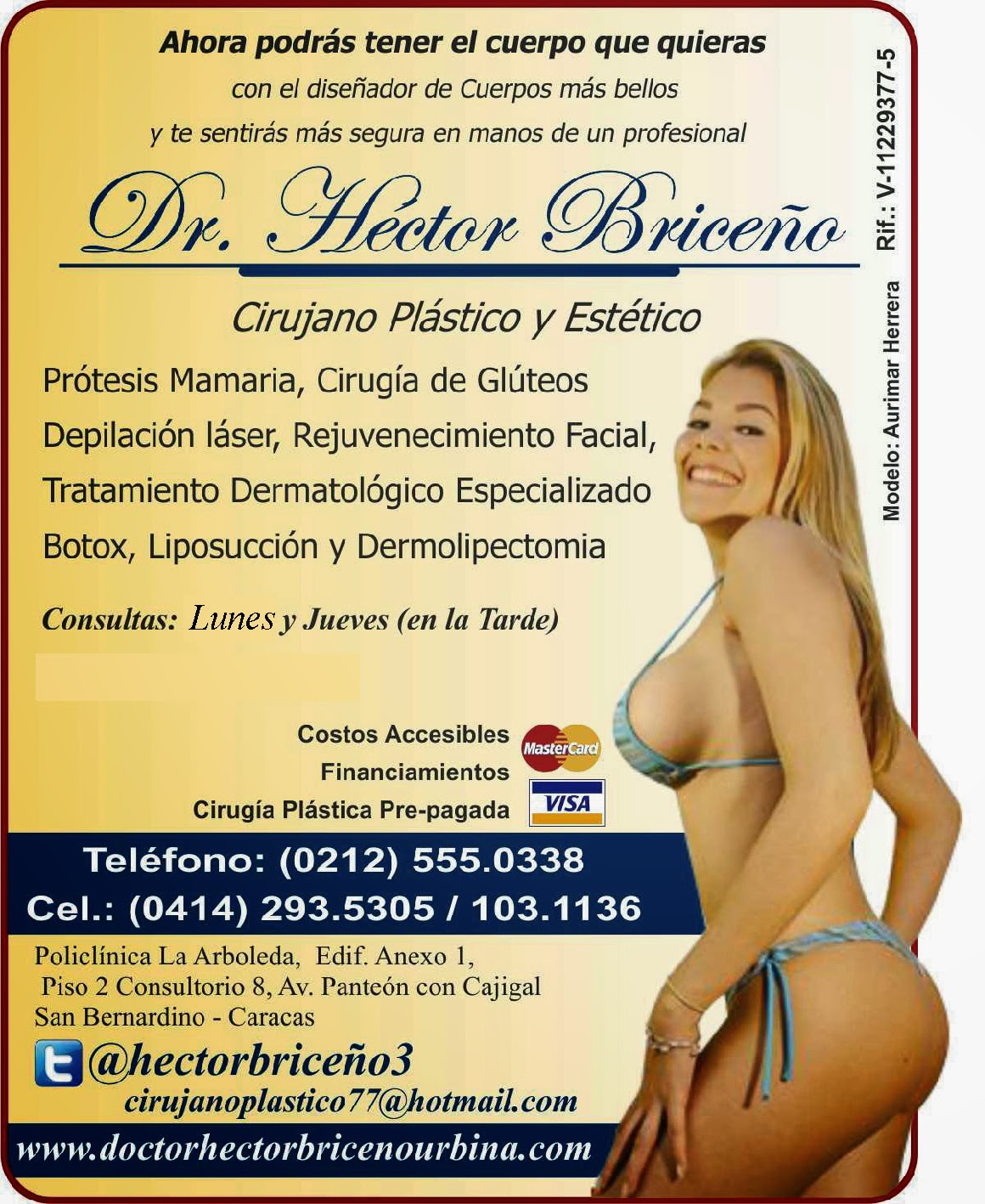 DR. HECTOR BRICE�O en Paginas Amarillas tu guia Comercial