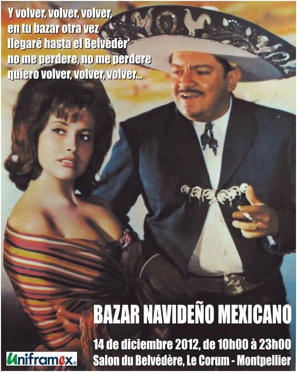 Noël à la mexicaine, 1ère édition, 2012