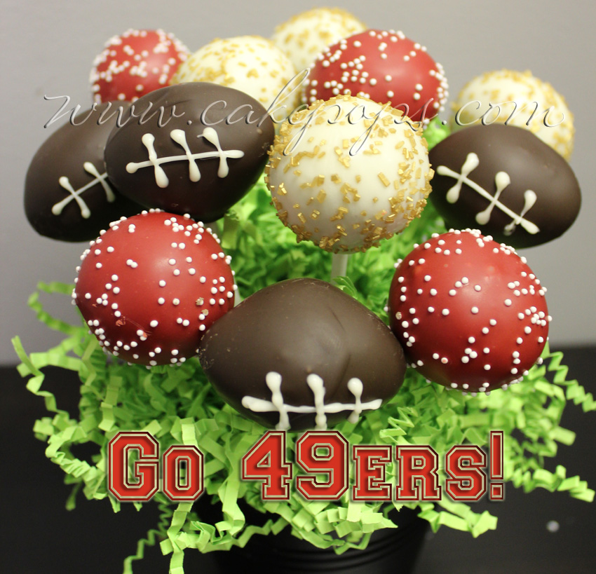 Superbowl Cake Pop