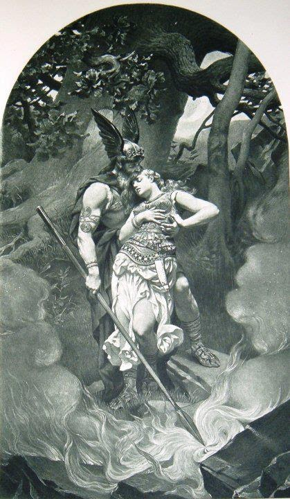 Odin e Brunhilde