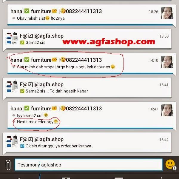 Testimoni online shop yang menyenangkan