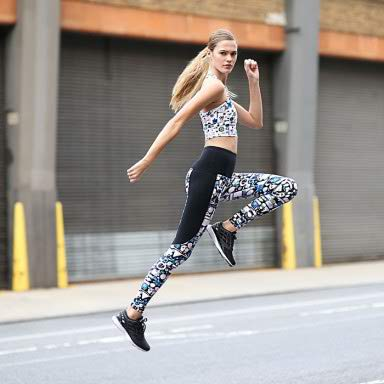 Bandier Blends Art and Fitness with Their Latest Activewear Collection